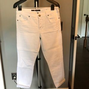STS Blue white jeans - Emma Ankle Skinny